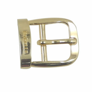 Custom Zinc Alloy Gold Pin Buckle pictures & photos