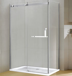 Strong Aluminum Rectangle Tempered Glass Shower Enclosure pictures & photos