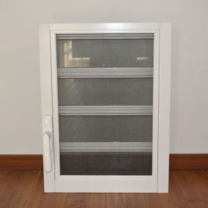 Aluminum Glass Shutter Window K09001