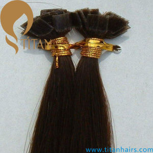 Chinese Virgin Remy Flat Tip Hair Extension (TT397)