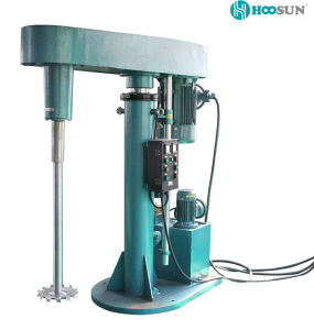 Hydraulic Lift High Speed Disperser for Paint Industry