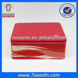 Cake Food Packaging Containers Tins&Gift Tin Cans&Metal Tin Packing Manufacturer
