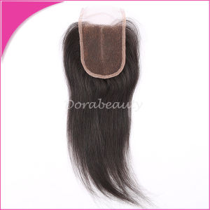 Closure Hair Brazilian Virgin Hair Weave Human Hair pictures & photos