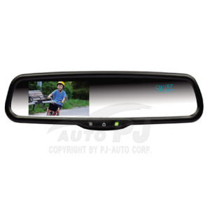 "4.3"" OEM Car Rear View Mirror Monitor with Compass & Temperature (HM-430-CT)"