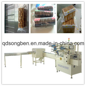 Tray-Less Biscuit Single Row Packing Machine pictures & photos