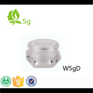 5g Diamond Shape Cream Jar for Cosmetic Packaging pictures & photos