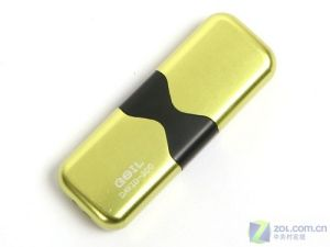 Golden End Pop-up Opening USB Flash Memory Stick Pendrive