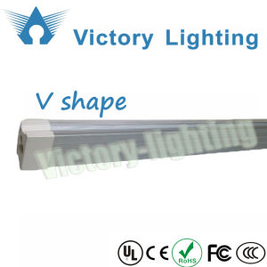 Factory Direct Sale SMD2835 V Shape Integrated 8ft T8 LED Cooler Door Light pictures & photos