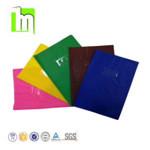 China A3 A4 A5 or Customized Colorful PVC Plastic Book Cover - China ...