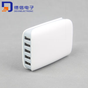 5 Ports USB Wall Charger for Cellphone Pad Speaker