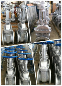"API600 5"" Class150 CF8 Stainless Steel Gate Valve pictures & photos"