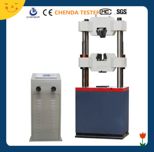600kn Digital Display Hydraulic Universal Testing Machine for Steel Test Testing Machine Price