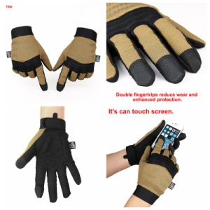 Tactical Airsoft Outdoor Sport Climbing Protective Full Fingers Gloves Cl14-0091 pictures & photos