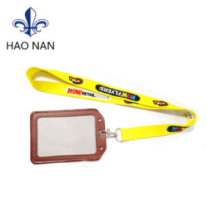 2017 New Products Polyester Lanyard with Metal Buckle pictures & photos