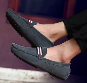 621a9f03430 China Moccasin Shoes in Suede Leather