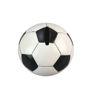 Custom Soccer Ball Sport Themed Ceramic Coin Bank/Piggy Bank pictures & photos