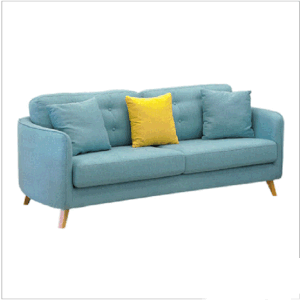 Fabric Modern Set Design Living Room Sofa With Wooden Legs