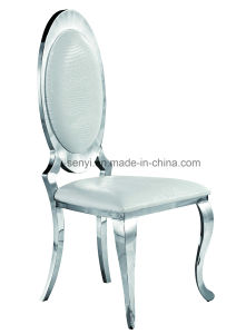 Modern Dining Room Furniture Stainless Steel Dining Chair Banquet Chair  Wedding Chair Hotel Chair