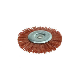 4.5 Inch Fine Nylon Abrasive Radial Wire Brush pictures & photos