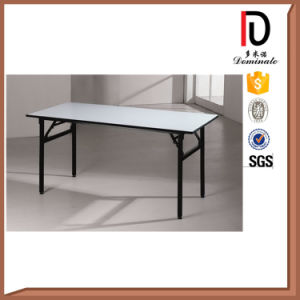 Cheap Durable Folding PVC Rectangle Hotel Banquet Table Br-T0056 pictures & photos