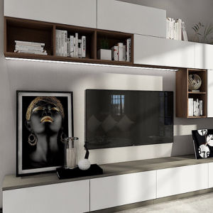 China Living Room Furniture Pantry Pvc Cabinet With Tv Cabinet