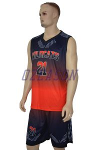 Free Design High Quality Custom Basketball Team Jersey Set pictures & photos