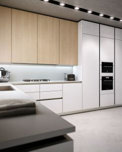 Fashion Modern Modern New Kitchen Cabinet pictures & photos