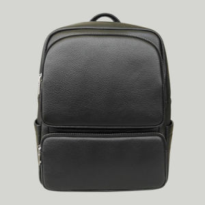 Wholesale Men Laptop Bag Genuine Cow Leather Backpack