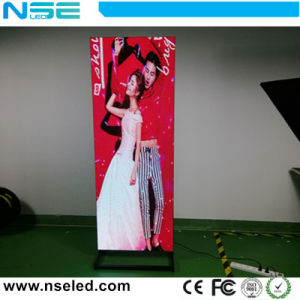 Latest China Indoor Pic HD Advertising LED Poster Display Sign