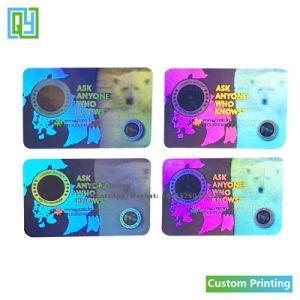 Custom Print 3D Hologram Sticker Maker