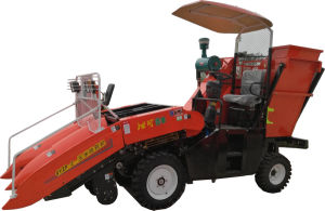 Wheel Corn Harvester (4YZP-2) pictures & photos
