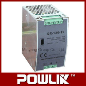 120W DIN-Rail Switching Power Supply for 12V, 24V, 48V (DR-120) pictures & photos