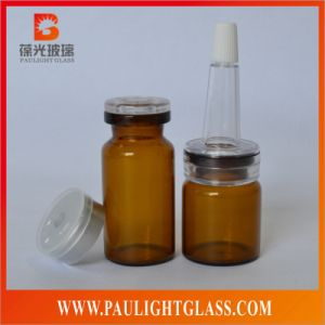 Amber Glass Bottle Medicine Bottle for Penicillin Essence