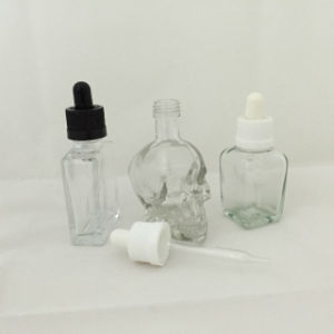 ISO9001 Popular Glass Bottles with Childproof Cap and Thin Dropper