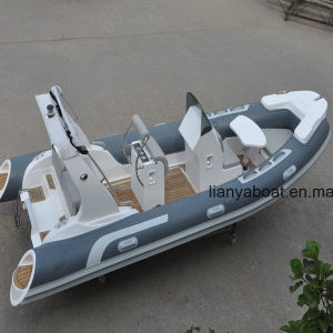 Liya 5.2m Rescue Boats China Inflatable Rib Boat for Sale pictures & photos