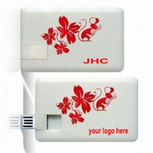 Free Sample Credit Card USB Flash Drive (L-043)