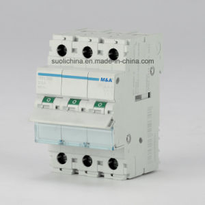 Hm 125A 3p Main Switch Circuit Breaker with High-Breaking Capacity (Isolators) Ce Standard pictures & photos