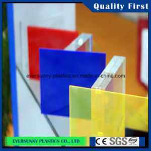 Cheap Acrylic / Plexiglass Transparent Plastic Glass Buliding Material Sheet pictures & photos