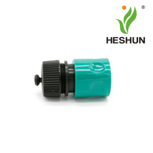 "ABS Plastic 1/2"" Hose Connector with Stop pictures & photos"