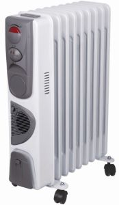 Oil Heater with Timer and Fan, CE/CB/RoHS