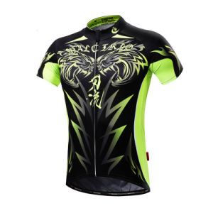 Custom Men Sublimated Short Sleeves Cycling Jersey pictures & photos