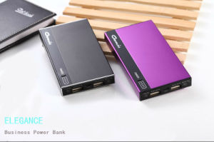 High Capacity 6800mAh Power Bank Dual Output USB Portable Mobile Charger for Smart Phone (GM68)