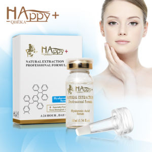 Cosmtics Super Moisturizing Natural Happy+ Hyaluronic Acid Serum Pure Hyaluronic Acid Serum pictures & photos