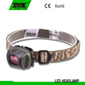 1 Watt LED Mini Plastic Head Light with 3xaaa Battery (8735)