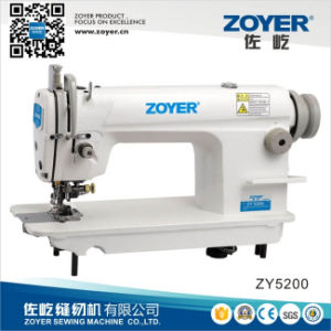 Zoyer High Speed Lockstitch Industrial Sewing Machine with Cutter (ZY5200) pictures & photos