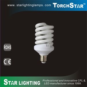27W E27 T3 Full Spiral Energy Saving Lamp