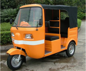 Popular Electric Power Car, Passenger Tricycle
