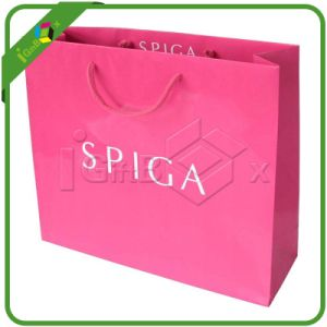 Cosmetic Paper Bag / Color Paper Bag / Handmade Paper Bag pictures & photos