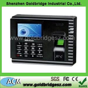 A7-C Zk Software Colour Screen Biometric Fingerprint Time Attendance