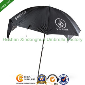 2m Windproof Sun Parasol Beach Umbrella with SPF 50 (BU-0040B) pictures & photos